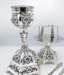 Sfinte Vase 14-812 Silver