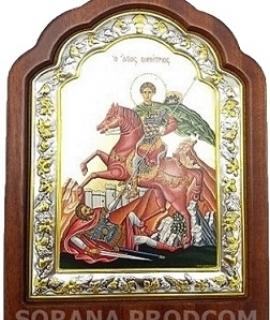 ICOANA 1852-925 SFANTUL MARE MUCENIC DIMITRIE