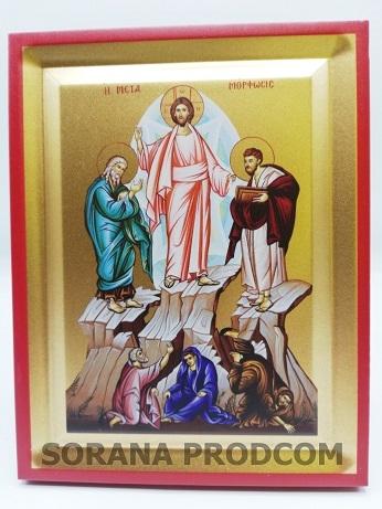 ICOANA 906 SCHIMBAREA LA FATA A DOMNULUI | Obiecte Bisericesti  |Schimbarea La Fata